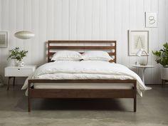 Handmade Wood Bed Frame