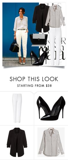 """""""Lovely"""" by betty-boop23 ❤ liked on Polyvore featuring Rika, ESCADA, Dolce&Gabbana, New Look and White House Black Market"""