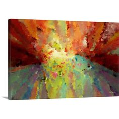 Found it at Wayfair - 'Wind of Change. Big Painting Modern Decor Collection' by Mark Lawrence Graphic Art on Canvas