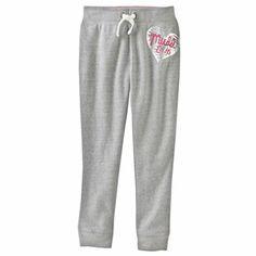Mudd Heart Fleece Pants - Girls 4-6x