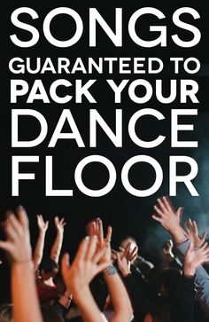 75 Reception Songs from The Flashdance Guaranteed to Get People on the Dance Floor. reception songs Of The Best Wedding Dance Songs To Pack The Dance Floor Wedding Reception Music, Wedding Dj, Wedding Tips, Perfect Wedding, Wedding Planning, Dream Wedding, Wedding Ceremony, Trendy Wedding, Wedding Receptions