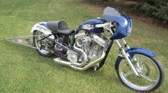 drag motorcycle   Harley Davidson Drag Bike
