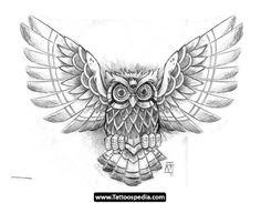 Owl tattoo designs men chest sketch unique eule tattoo new school photos of 27 elegant owl Hawaiian Tattoo, Wing Tattoo Designs, Chest Tattoo Drawings, Tattoo Designs Men, Owl Tattoo Design, Owls Drawing, Owl Wings, Elephant Design Drawings, Tattoo Designs