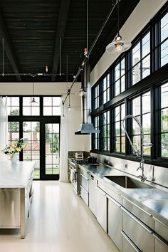 Le style industriel dans la cuisine