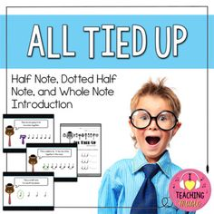 Looking for a fun new way to introduce half notes? Engage your kids by using Dad's old neck ties to connect quarter notes into longer sounds. Swap out Dad's neck ties for the real thing (musical tie) and lead your students towards the discovery of half notes.