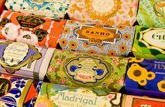 Portuguese soaps at A Vida Portuguesa #savon #portugais home accessories