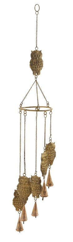 Owl Wind Chime | Wayfair