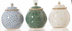 Lawn Patterns even comes in Green for St. Cookie Jars, St Patricks Day, Lawn, Great Gifts, Sweet Treats, Household, Pottery, Cookies, Green