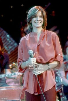 Singer Debby Boone rehearses her televised concert at KHJ Studios on December 1977 in Los Angeles, California. Debby Boone, Pat Boone, Gerry Rafferty, Disco 70s, Play That Funky Music, One Hit Wonder, Black Betty, The Beach Boys, Billboard Hot 100