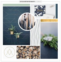 Loved working on this chic, hip and stylish moodboard!   www.23and9creative.com