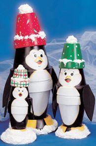 Terra Cotta Pot Christmas Crafts | ... | Craft ideas - Christmas Ideas - pottery, pots and terra cotta