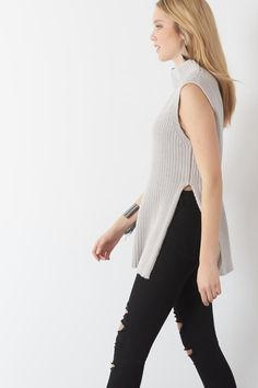 Pssst the side slit is so in! style