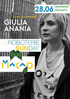 LIVE  ★ GIiulia Anania https://it.wikipedia.org/wiki/Giulia_Anania