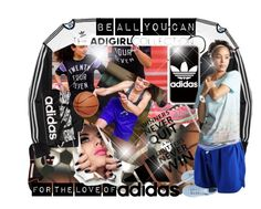 """""""Be All You Can The adiGIRL Collection """"Contest Entry"""""""" by deluxephotos ❤ liked on Polyvore"""