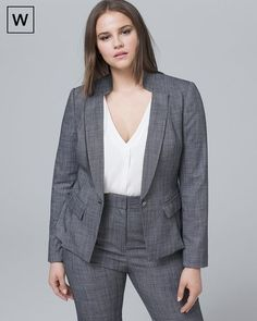 20 Ways to Wear a Blazer for Plus Size Girls - Blazer Outfit Ideas Source by mjeannormil ideas pantalon Plus Size Retro Dresses, Plus Size Suits, Plus Size Blazer, Plus Size Girls, Plus Size Womens Clothing, Size Clothing, Plus Size Vintage, Clothing Stores, Curvy Fashion