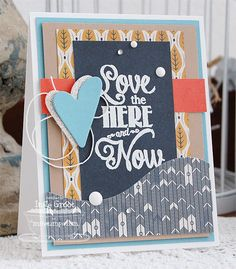 Patterned Paper : MFTWSC 149, Love the Here and Now