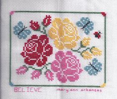 Cute! Cross Stitch from Just Stitching blog