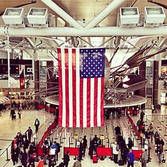 John F. Kennedy International Airport (JFK) στην πόλη Queens, NY