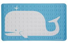 """Bathroom Summer Decor Ideas for the shower, tub, and more - """"Sing and Spout"""" whale tub mat from @modcloth. For more summer bathroom ideas, check out http://www.pottymouthtours.com/11-ways-get-bathroom-summer-mood/ 