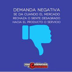 Mercadotecnia a Cucharadas: ¿Qué es la demanda negativa? #ConceptosDeMarketing