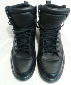 Dr. Martens 11M Men's Lamar Padded Collar Black High Top Sneaker Boot  #DrMartens #HighTtopsneakerboot