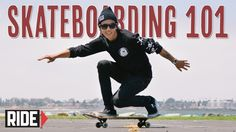 Learn the BASICS of how to ride a skateboard. Spencer Nuzzi teaches you how to stand, push, roll, carve, and stop on a skateboard. Watch How-To Skateboarding...