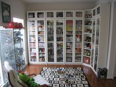 IKEA Billy Bookcases by This Little Bento, via Flickr