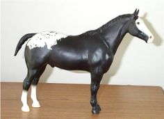 BREYER SEARS SR BLACK BLANKET APPALOOSA PERFORMANCE HORSE