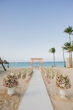 Wedding beach ceremony - Pink floral gazebo Romantic beach wedding Venue Kukua Punta Cana Design Begokua Photo by HDC Beach Wedding Locations, Beach Wedding Reception, Beach Ceremony, Beach Wedding Decorations, Wedding Ceremony, Wedding Resorts, Wedding On The Beach, Wedding Receptions, Destination Weddings
