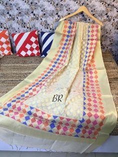 Full Size Zari Weaving Banarasi Silk Dupatta (Full 2.5 mtr dupatta) Price Rs 700 + shipping extra Pick any 2 pcs for Rs 1050 + Shipping Extra