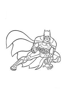 Ausmalbild Batman zum kostenlosen Ausdrucken und Ausmalen.  #Ausmalbilder | #Malvorlagen | #Batman | #Kindergarten | #Coloring | #ColoringPages Batman 2, Kindergarten, Film, Movie, Film Stock, Kindergartens, Cinema, Preschool, Films