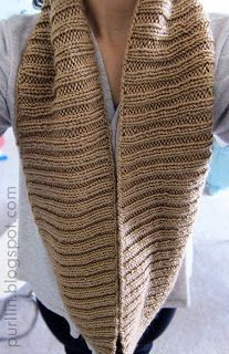 super easy infinity knit pattern