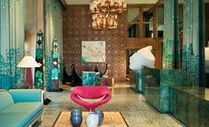 See more @ http://www.bykoket.com/blog/top-50-luxury-interior-design-projects-by-kelly-wearstler/