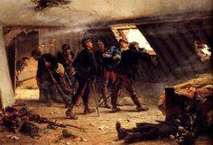 Episodio de la guerra franco prusiana - Alphonse de Neuville