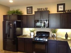 decorate above kitchen cabinets home decor decorating above the rh pinterest com