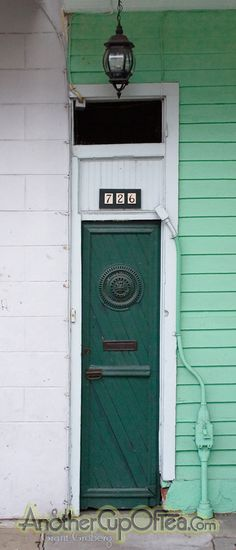 Skinny door, New Orleans    Don't know how I feel about this... skinny door implies that it is meant for skinny people which screams 'big people, you are not welcome here.' ;)