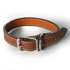 Soft Italian Leather Dog Collar