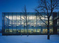 Vaasa City Library, Vaasa, Finland - Lahdelma & Mahlamäki Architects Multipurpose Hall, City Library, Public Service, Helsinki, Finland, Denmark, Touring, Norway, Sweden