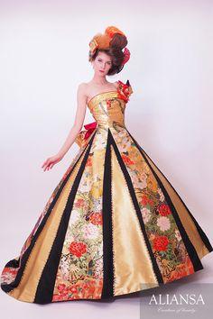 和ドレス 着物ドレス