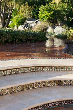 Arto brick/calif. pavers. polychrome stoneware tiles (spanish moroccan mediterraean)