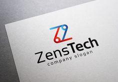 Check out Zens Tech Logo by EmilGuseinov on Creative Market