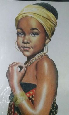 AFRICANA COLORED PENCILS