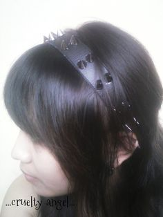 How to Make Your Own Spiked Head-Band In An Easy Way