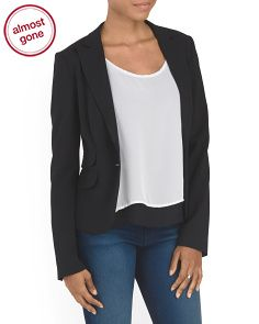 Made In Italy Wool Blend Blazer