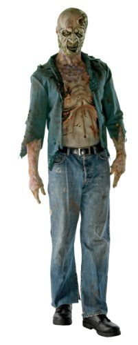 The Walking Dead Decomposed Zombie Deluxe Adult Costume Rubie's Costume Co http://www.amazon.com/dp/B0058IE2YY/ref=cm_sw_r_pi_dp_4zDdub0048NBZ