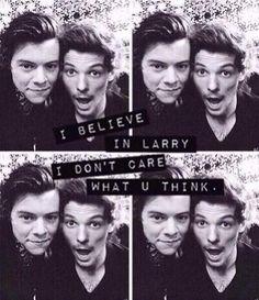 I believe in Larry.