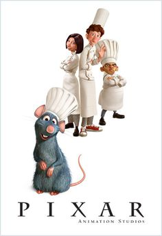 "Pixar Animated Studios is currently working on a 3D version of ""Ratatouille"" for a re-release of the animated film. Description from designntrend.com. I searched for this on bing.com/images"