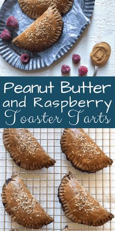 Peanut Butter and Raspberry Toaster Tarts are a great way t o get kids cooking and eating in the kitchen. A classic flavor meets a classic treat for a whole new breakfast or brunch dish. #momskitchenhandbook #poptarts #toastertarts #breakfast #brunchgoals