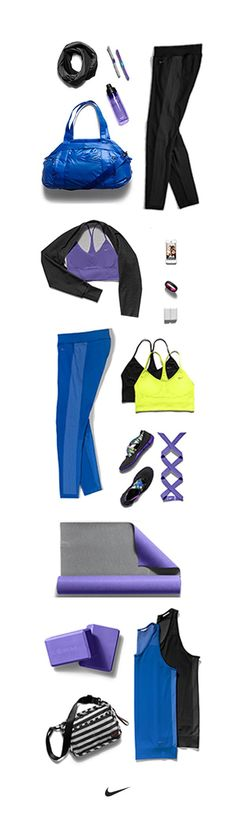 Stay summer cool with everything you need for the studio. Mix and match Carissa Moore's must-have looks. Perfect for yoga, pilates and barre. #nike