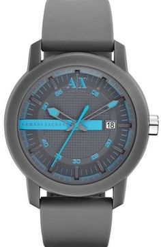 Colorflash Blue Watch         -                Accessories Shop         -                Mens                       - Armani Exchange